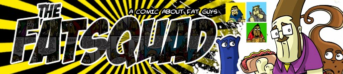 Available to order TODAY - The Fatsquad Volume 1